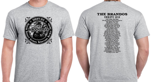 Brandos-Shirt 2018 Tour (5XL)