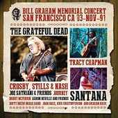 Bill Graham Memorial Concert San Francisco CA 03-Nov-91