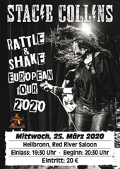 Ticket Stacie Collins Heilbronn 25.03.2020