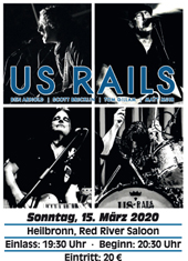 Ticket US Rails Heilbronn 15.03.2020